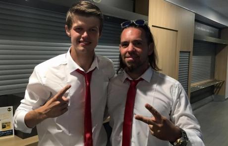 Patrick og Dennis er nye europamestre i gokart